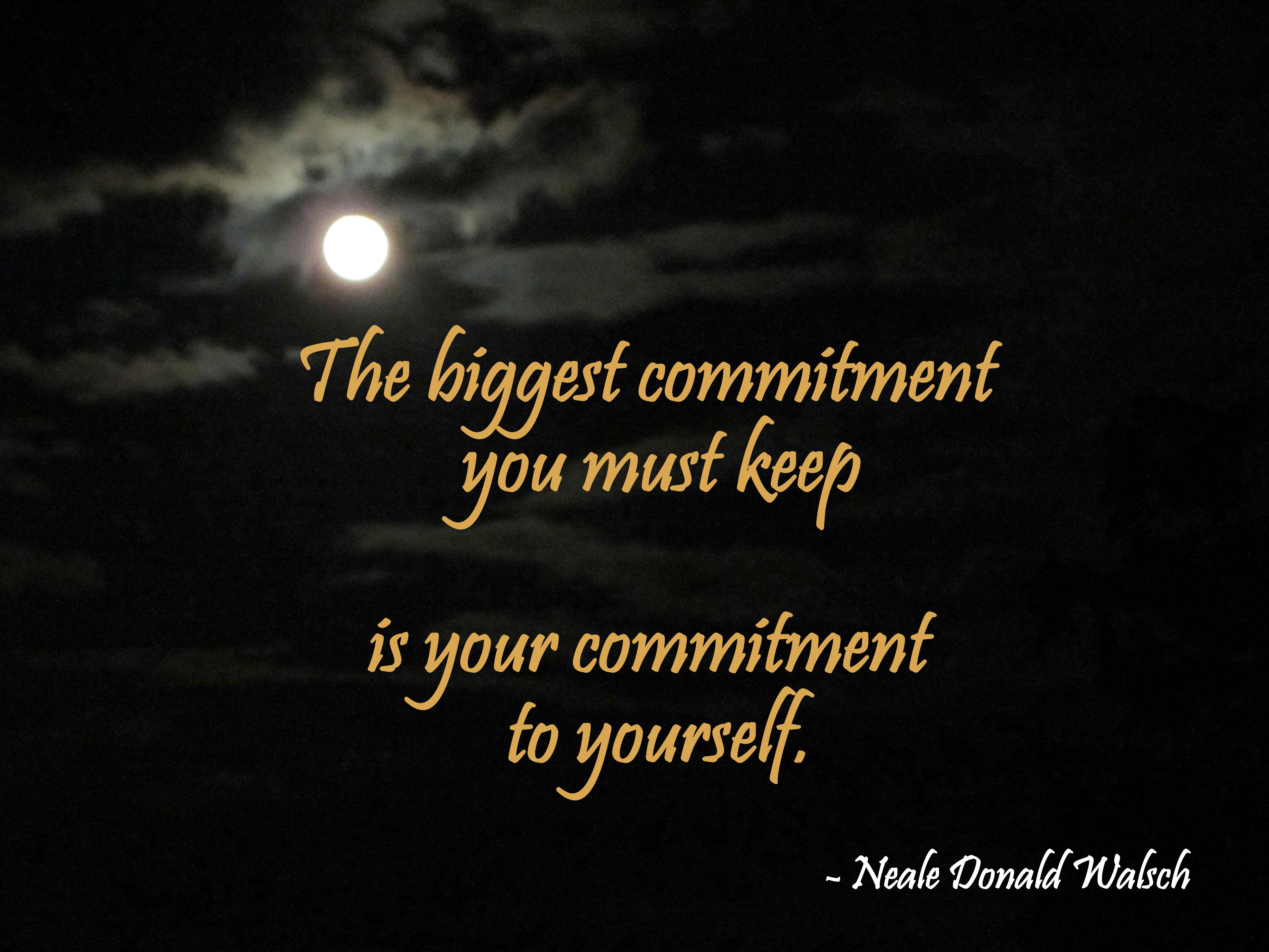 How to Nail Commitment