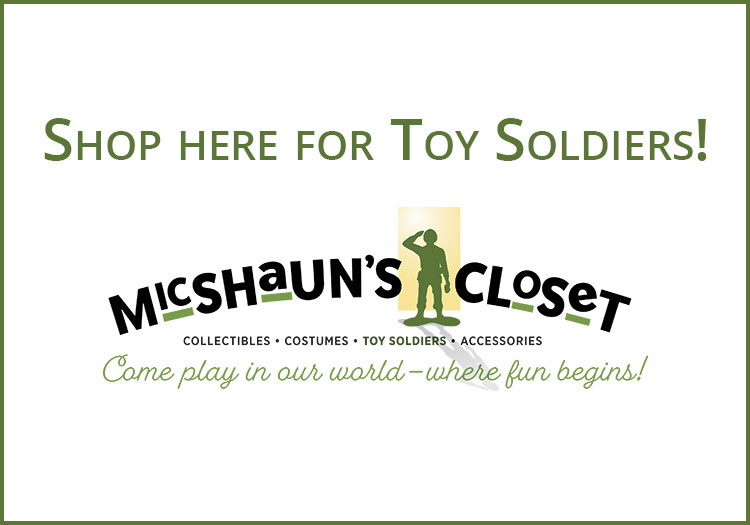 MicShaun's Closet Toy Soldiers