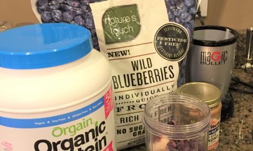 What's in Your Breakfast? Try My Favorite Breakfast Protein Shake