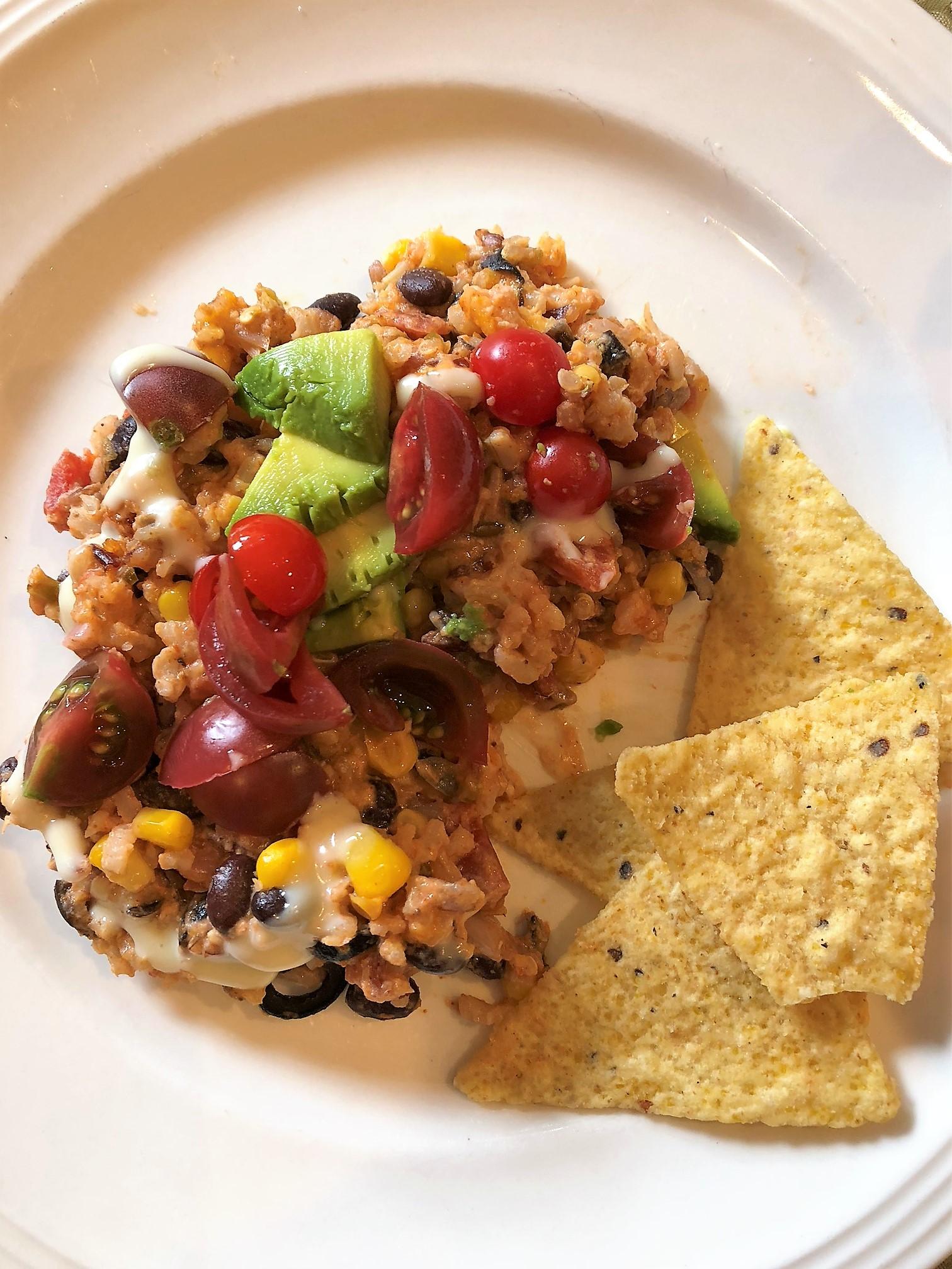 Easy Week Night Dinner – Santa Fe Beans and Rice