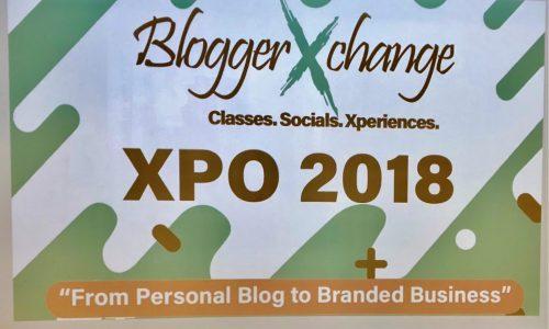 BloggerXchange XPO 2018 –  A Blogger Event