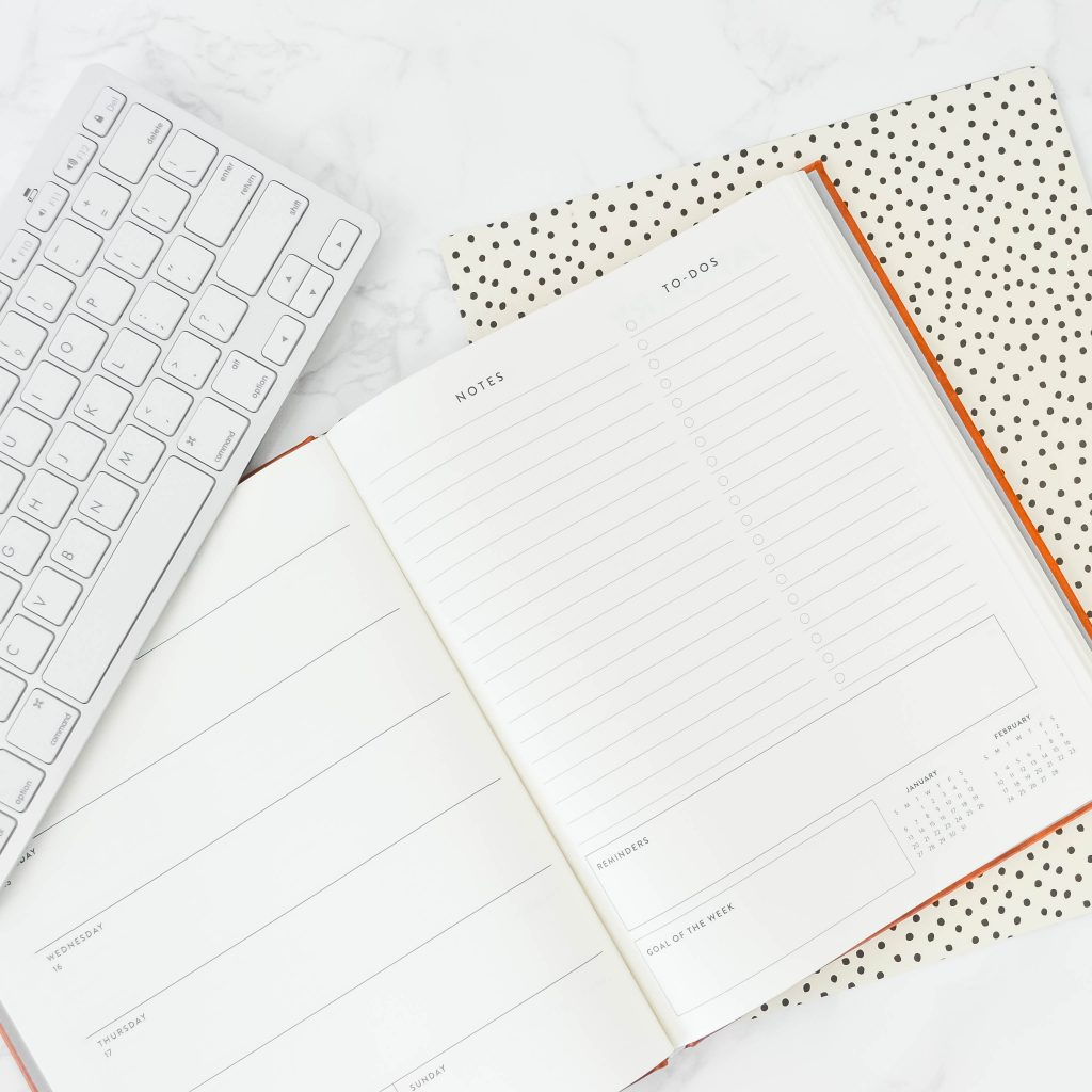 Planner and Keyboard