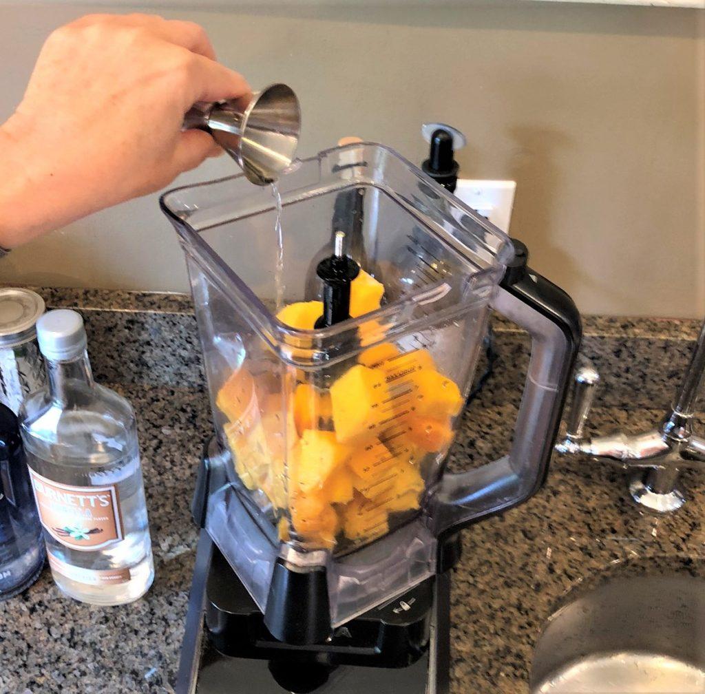 Adding the Rum