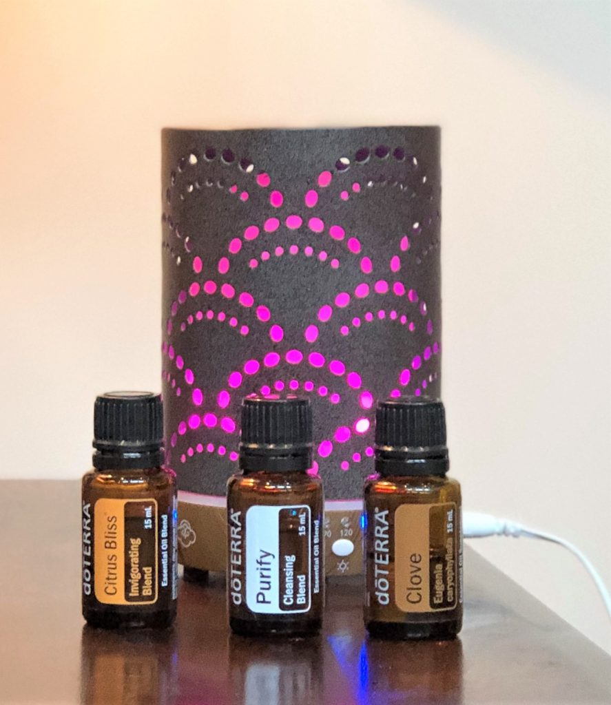 Oils and Diffuser