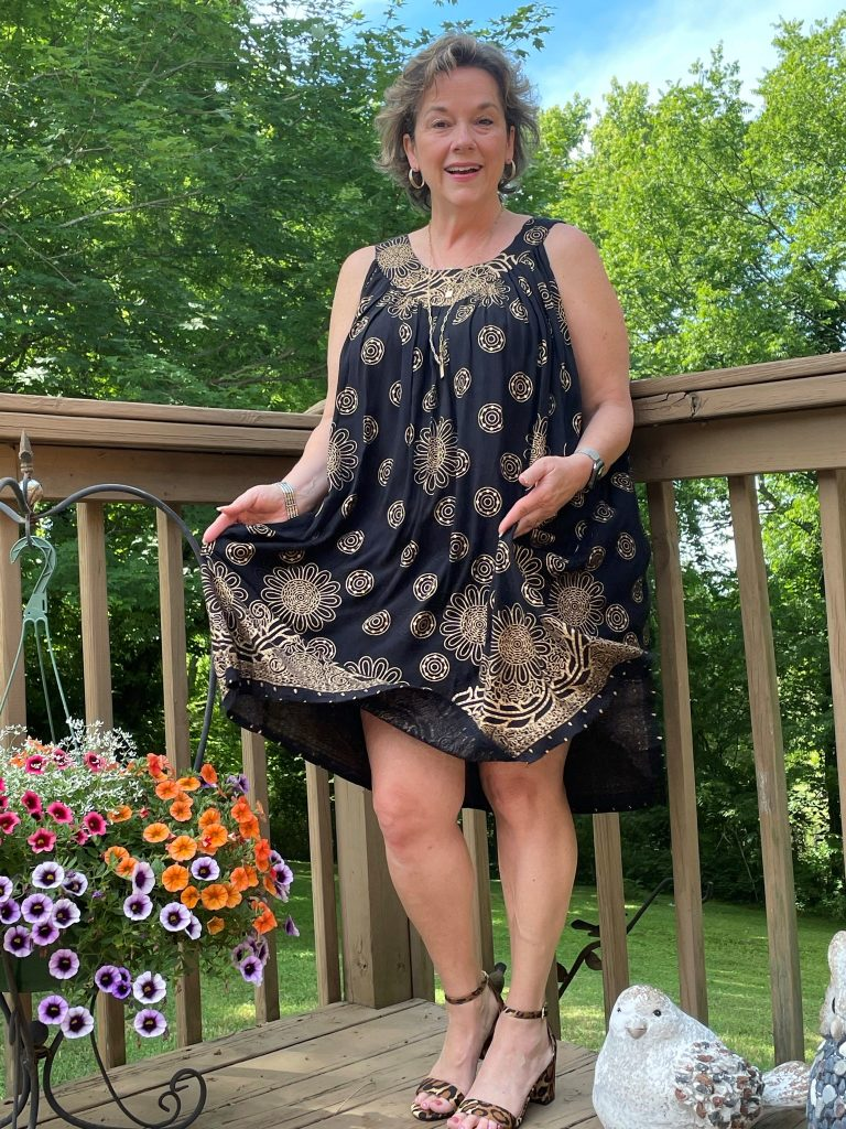 Black & Gold Fancy Dress